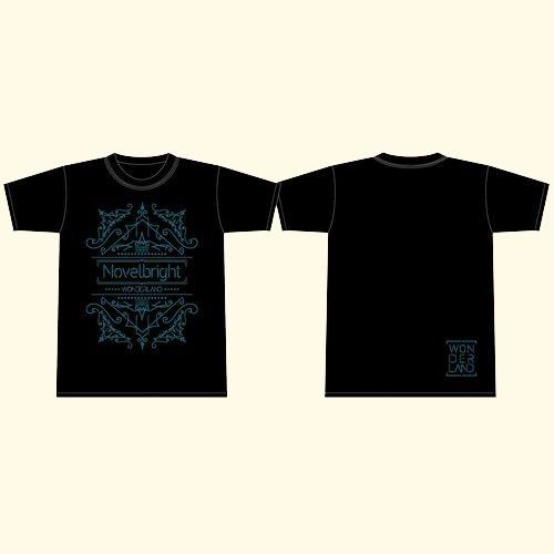 【アルバムリリース記念GOODS】「WONDERLAND」T-SHIRT/ブラック
