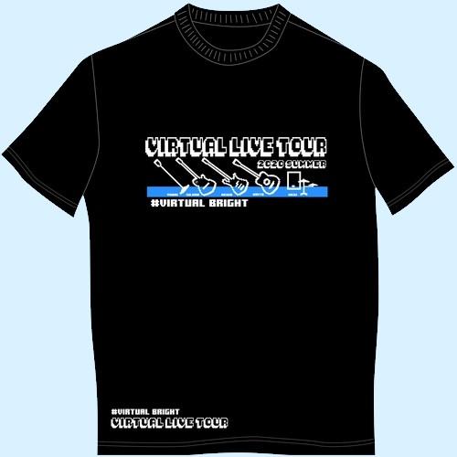 【バーチャルLIVE GOODS】バーチャルLIVE Tシャツ/ブラック