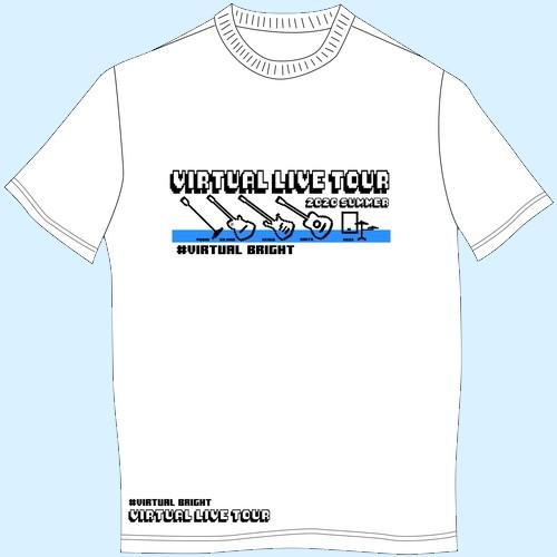 【バーチャルLIVE GOODS】バーチャルLIVE Tシャツ/ホワイト