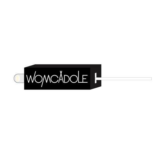 【WOMCADOLE】ロゴラバーケーブルホルダー