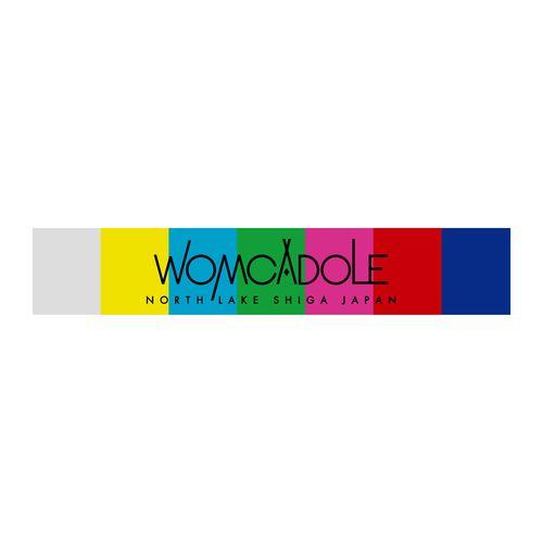 【WOMCADOLE】カラーバーマフラータオル