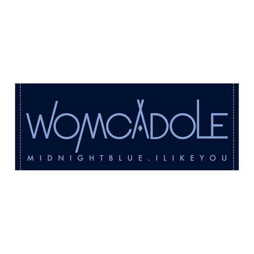 【WOMCADOLE】ミッドナイトブルータオル
