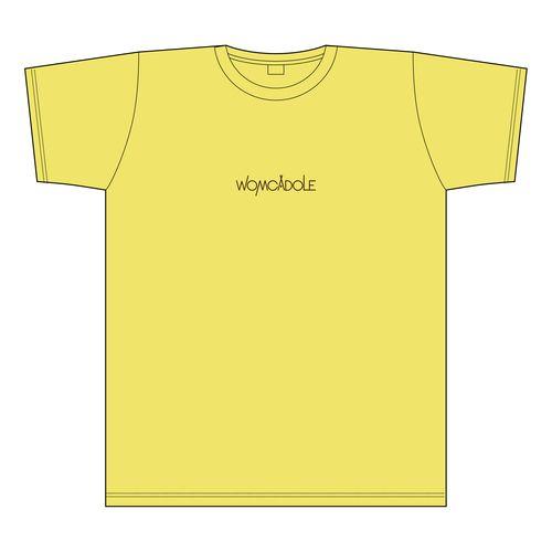 【WOMCADOLE】チビロゴ刺繍T(バナナ)