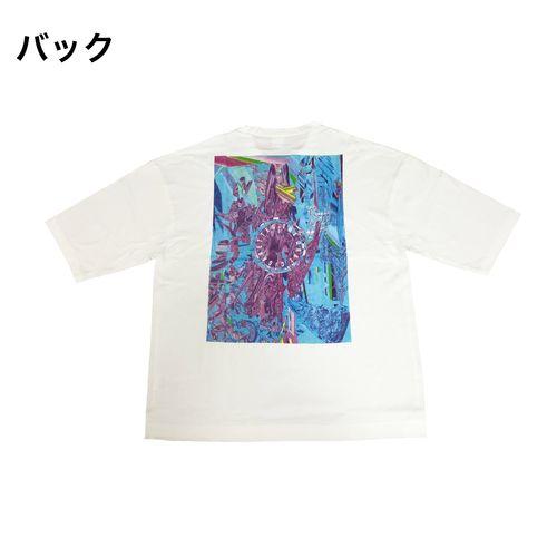 ONENESS WORLD BIG Tシャツ/ホワイト