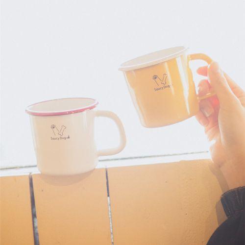 ホーローマグカップ/ホワイト