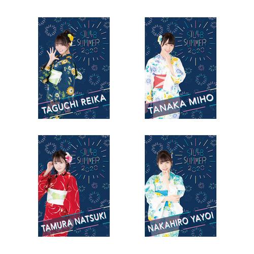 STU48 SUMMER2020 個別クリアPPポスター