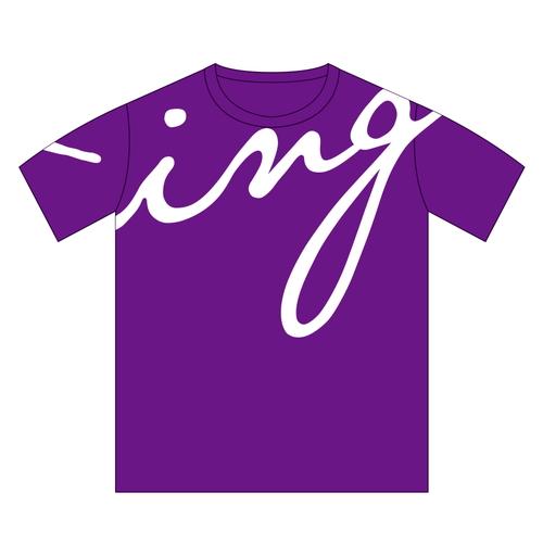 ing Tシャツ[パープル]