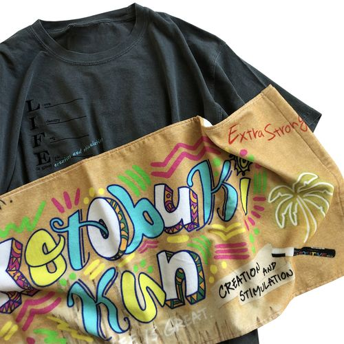 Official Towel -Summer Lettering-