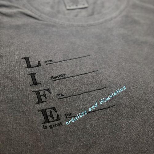 LIFE  Acronyms Tee