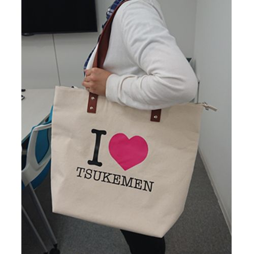 I LOVE TSUKEMEN トートバック