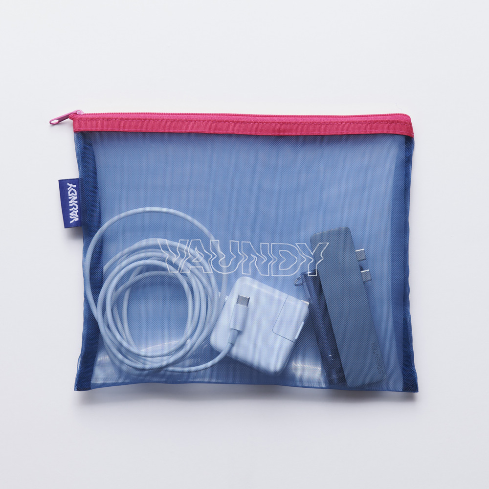 Mesh Pouch [Navy]