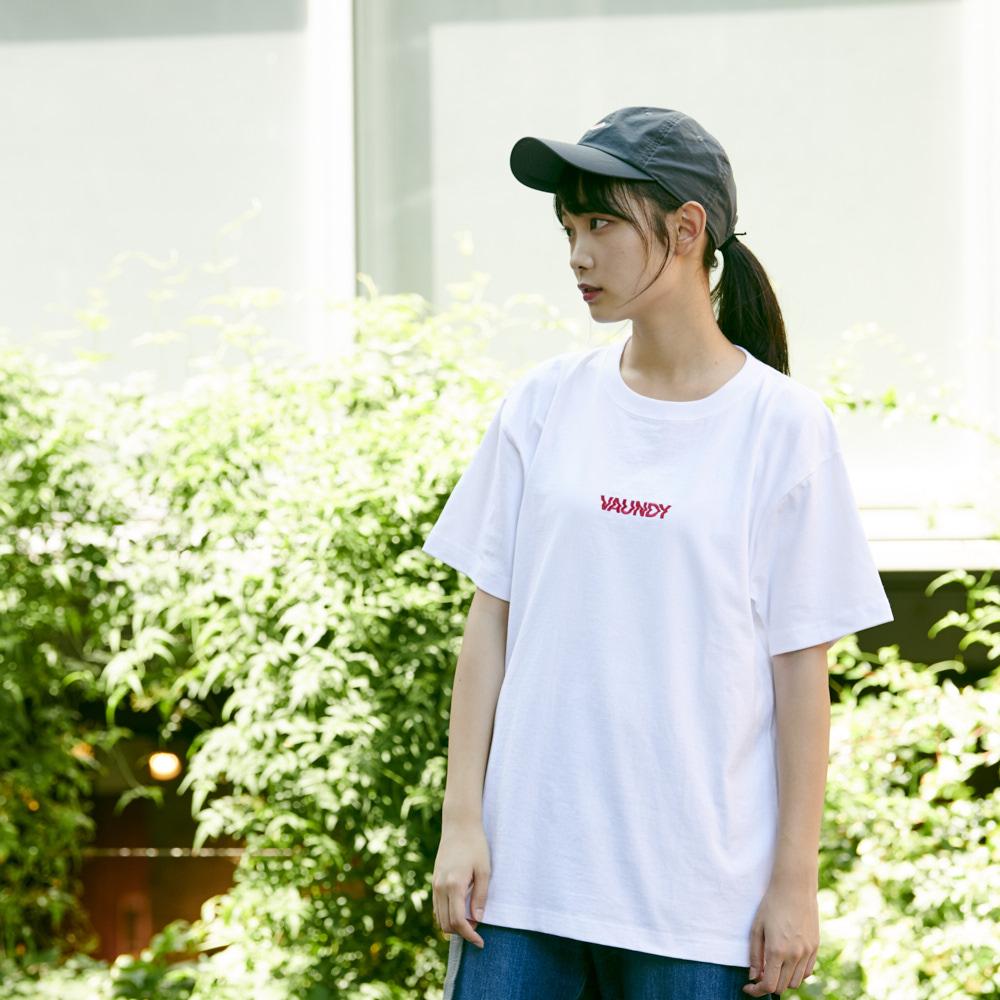 Logo T-Shirts Pink [White]
