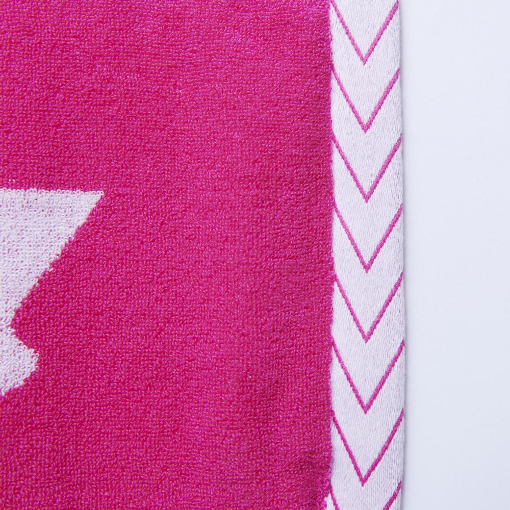 Logo Jacquard Towel [Pink×White]