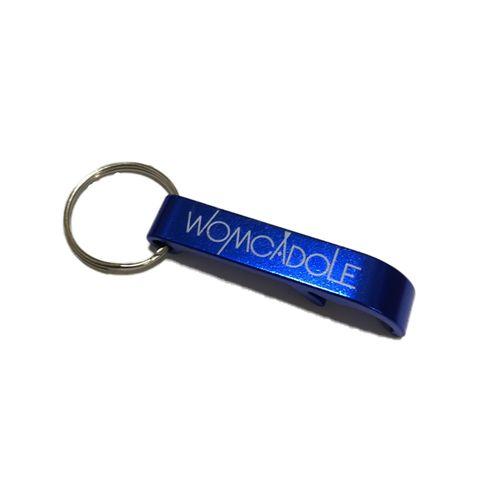 【WOMCADOLE】栓抜きキーホルダー / 青