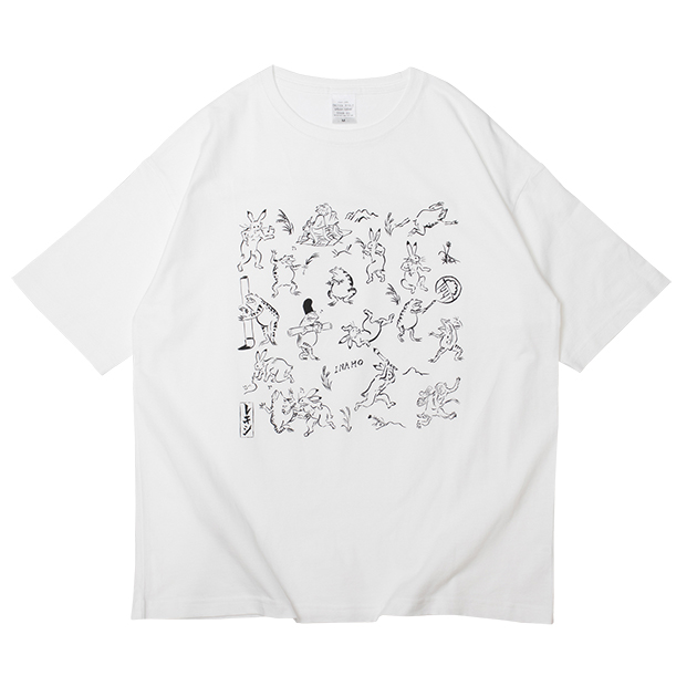 ギガアイシTシャツ/ホワイト