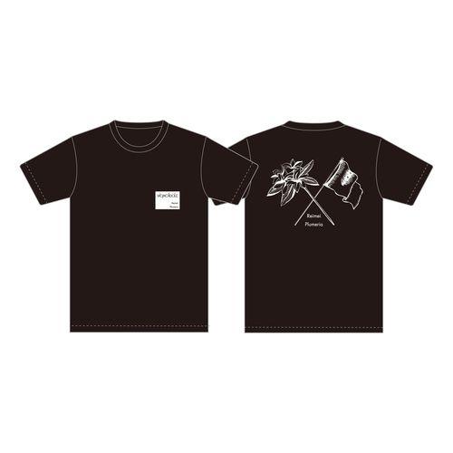 【WOMCADOLE】黎明プルメリアT(黒)