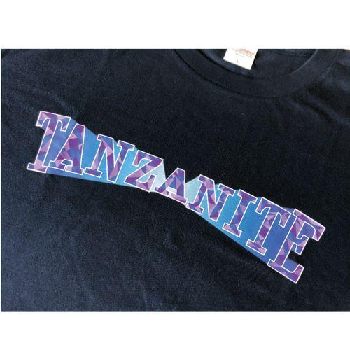 TANZANITE Tシャツ/ネイビー
