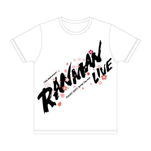 TANZANITE Tシャツ/ホワイト