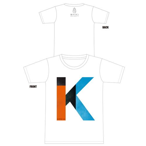 K Tシャツ[ホワイト]