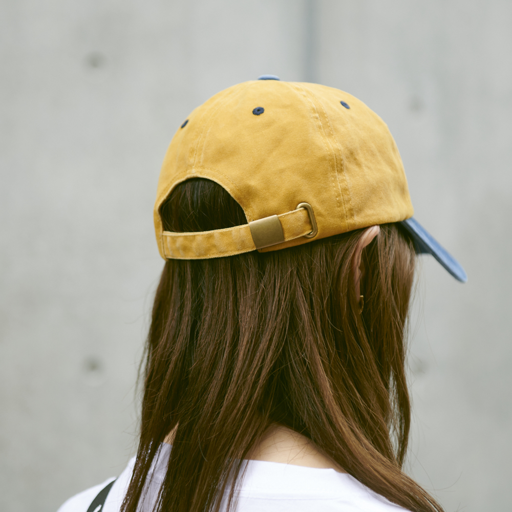 Cap [Yellow×Blue]