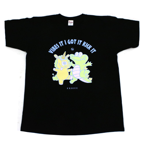 【EXIEEE×entrance】 オリジナルTシャツ(会員番号入り) / ブラック