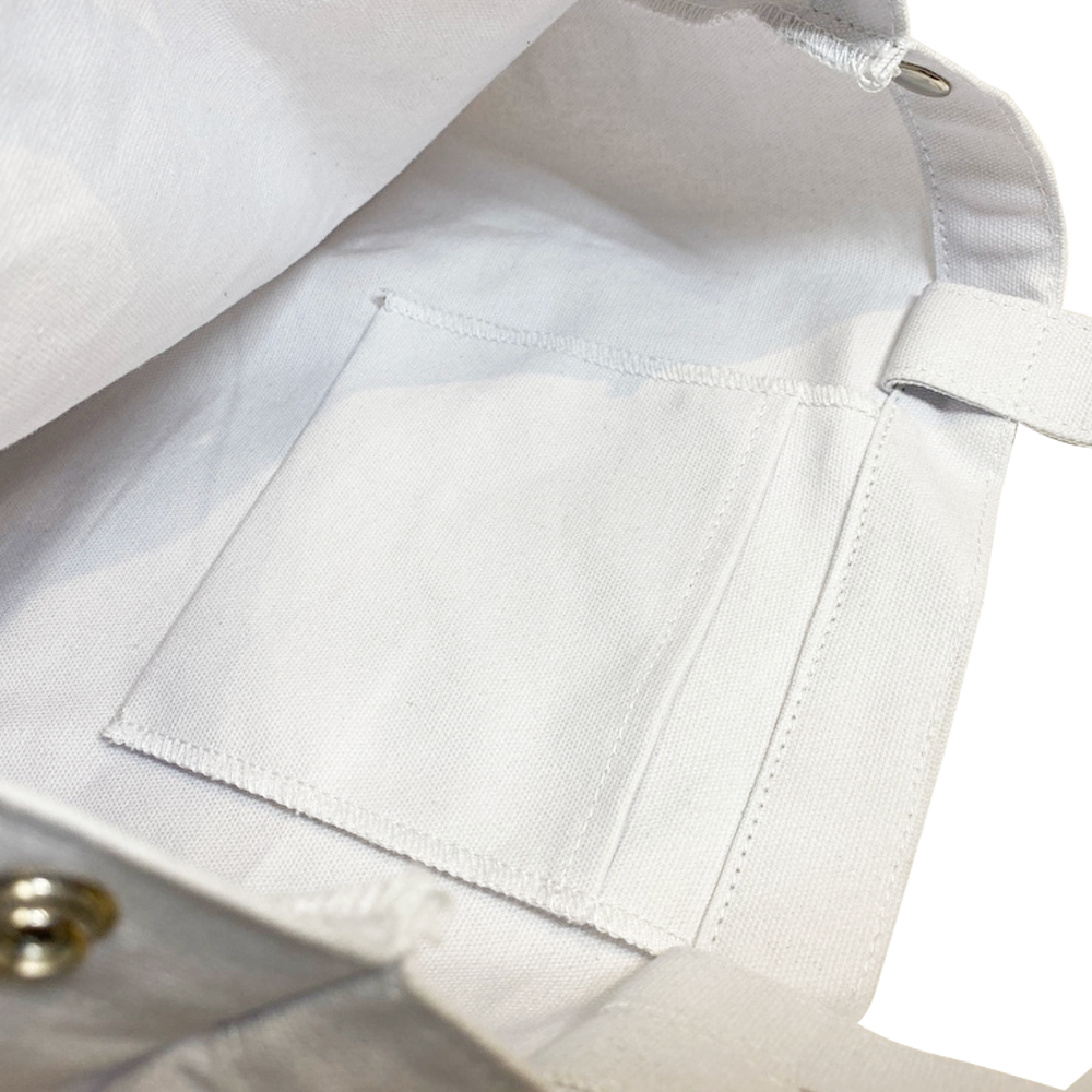【再販】モノクローズ 2WAYトートバッグ / ホワイト