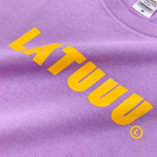 【ラトゥラトゥ】LATUUU Tシャツ(パープル)