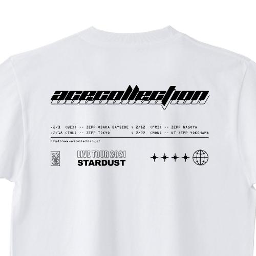 【STARDUST TOUR 限定】STARDUST TEE/ホワイト
