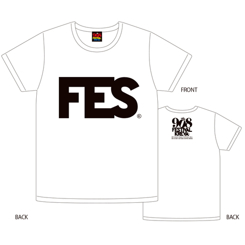 908FES 2013  FES T-shirts [ホワイト]