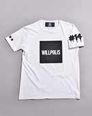 WILLPOLIS Tシャツ(WHITE)