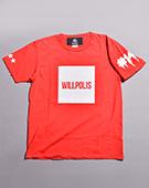 WILLPOLIS Tシャツ(RED)