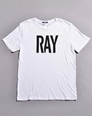 RAY ルーズフィットTシャツ(WHITE)