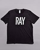 RAY ルーズフィットTシャツ(BLACK)