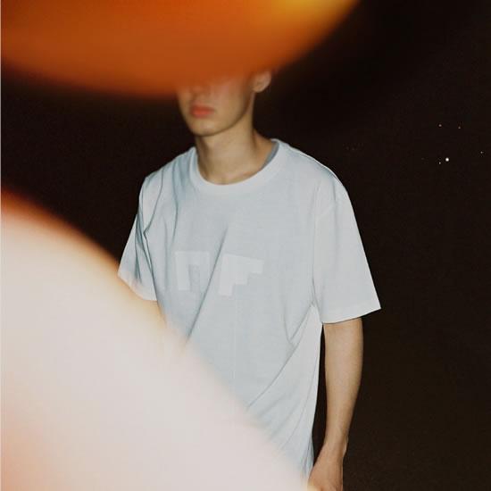 NF04 LOGO TEE(white)