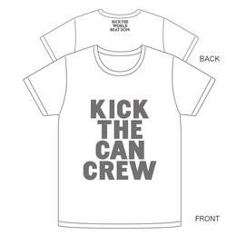 KICK THE WORLD BEAT Tシャツ[ホワイト]