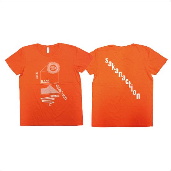 Core component of sakanaction T-shirts(orange)