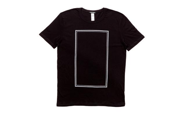 Tee LooseFit Square Black