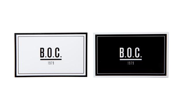 Sticker Square Black&White