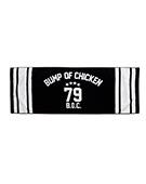 Sports Towel Numbering79 Black