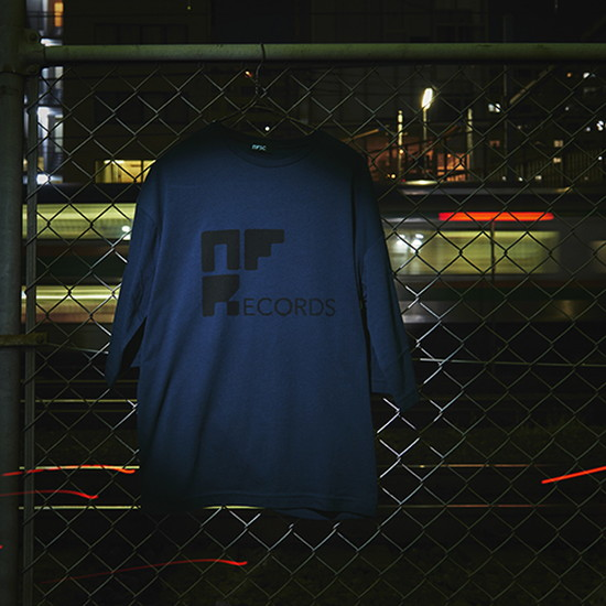 NFSC NF Records TEE Navy