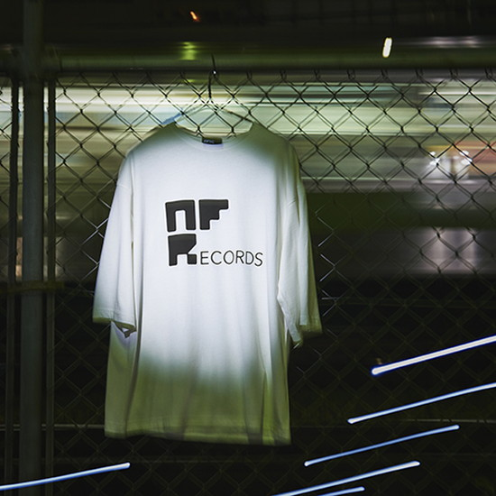 NFSC NF Records TEE White
