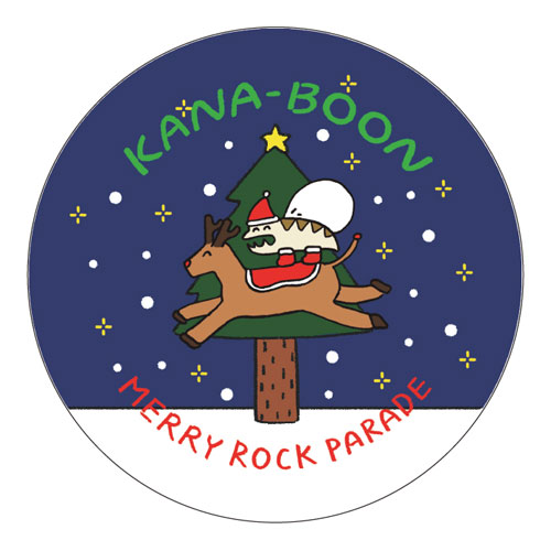 MERRY ROCK PARADE限定 レンちゃん缶バッジ
