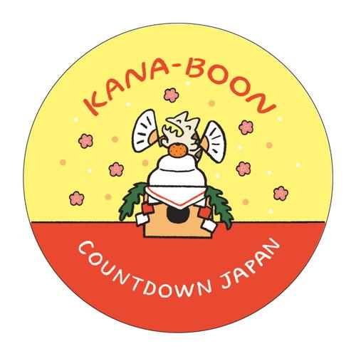 COUNTDOWN JAPAN限定 レンちゃん缶バッジ