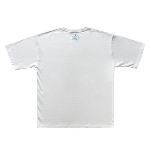 """""""Summer God"""" Patch BIG Tee -White-"""