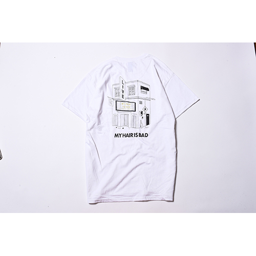 LIVE HOUSE Tシャツ / 白