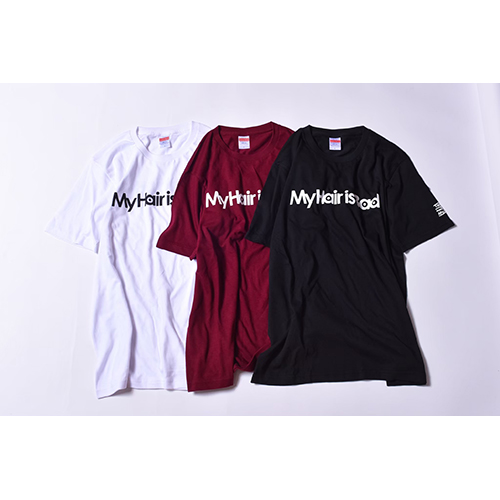 ロゴTシャツ / 黒