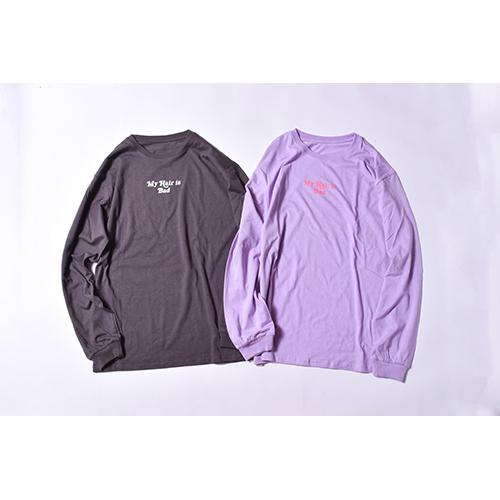 越後駒ヶ岳ロングTシャツ / 黒