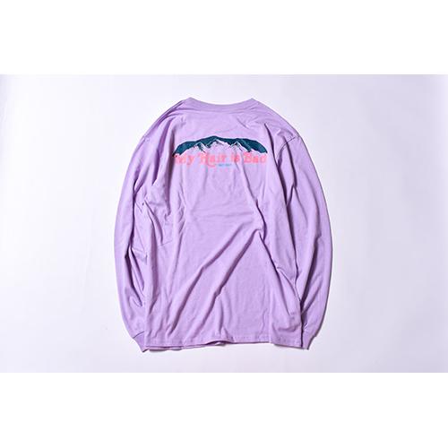 越後駒ヶ岳ロングTシャツ / パープル