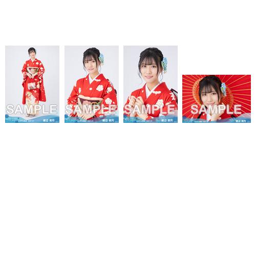 【ネコポス便】STU48 2021年1月度netshop限定ランダム生写真5枚セット【2期研究生】