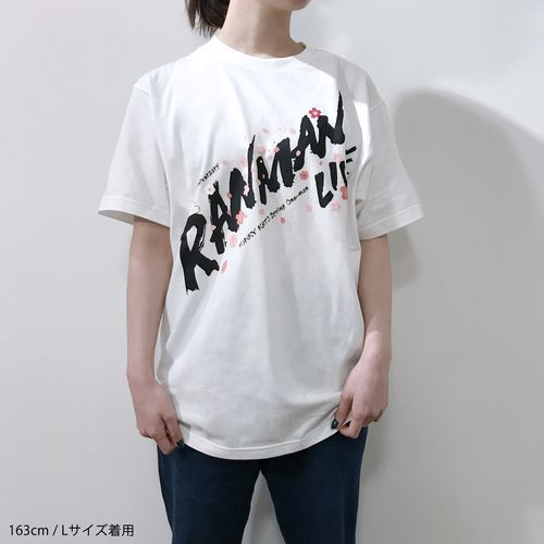 爛漫ライブ Tシャツ/白